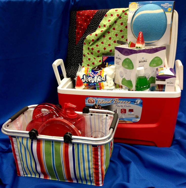 School Raffle Basket Theme Ideas