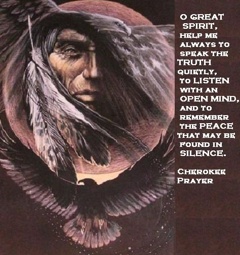 Cherokee Indian Quotes Sayings