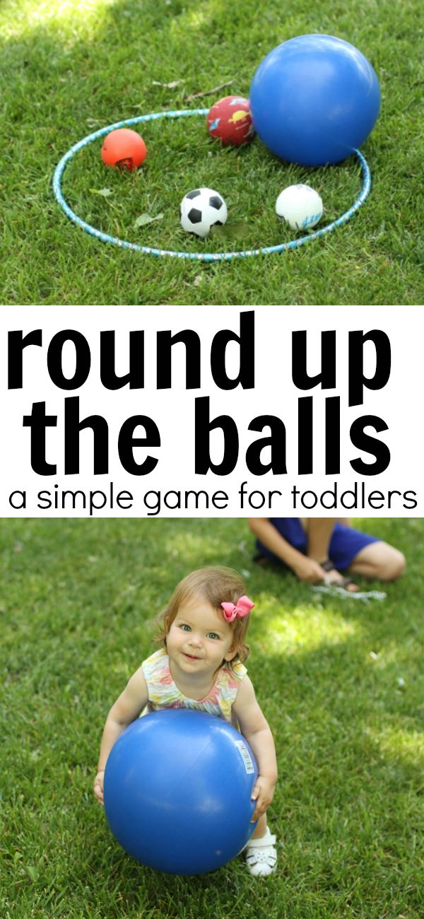 Outside Games Toddlers
