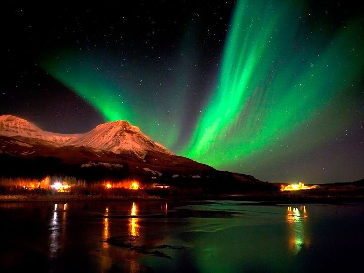 Northern Light Activity Iceland