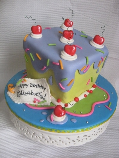 Whimsical Birthday Cake By Tomswife On Cakecentral Com
