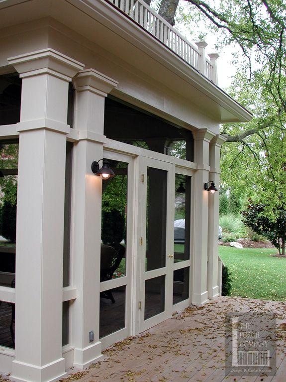 Back Porch Columns