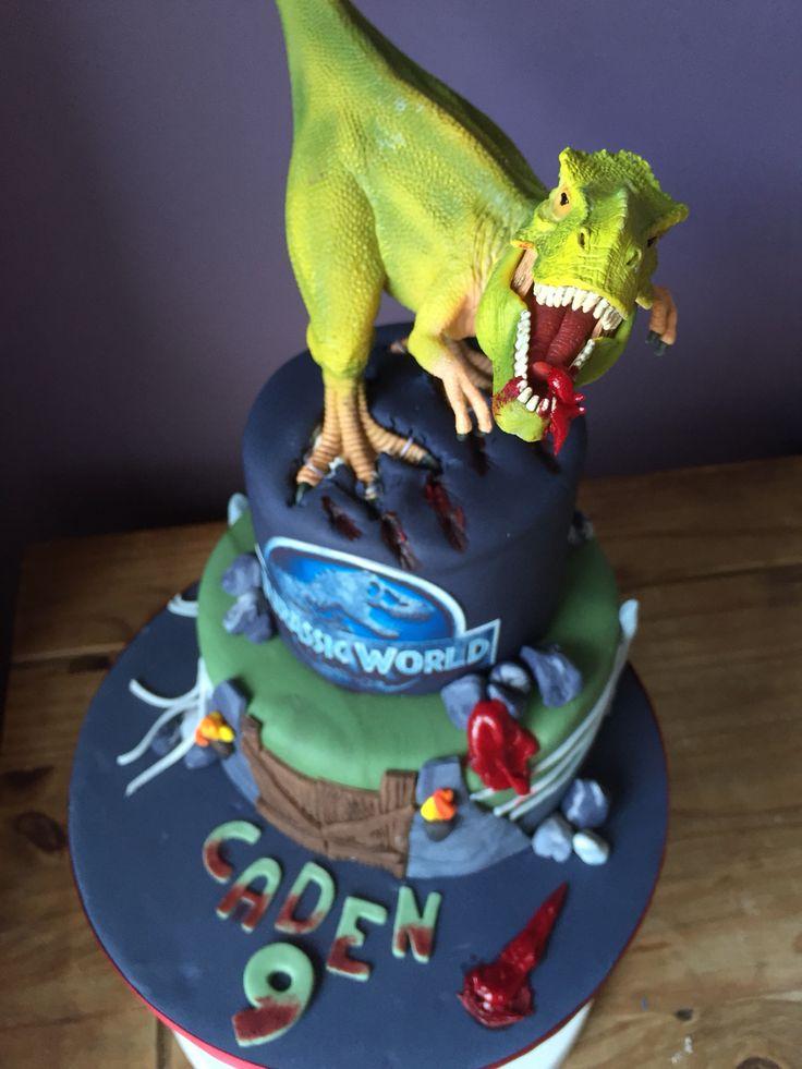 T Rex Cake Childrens Cakes
