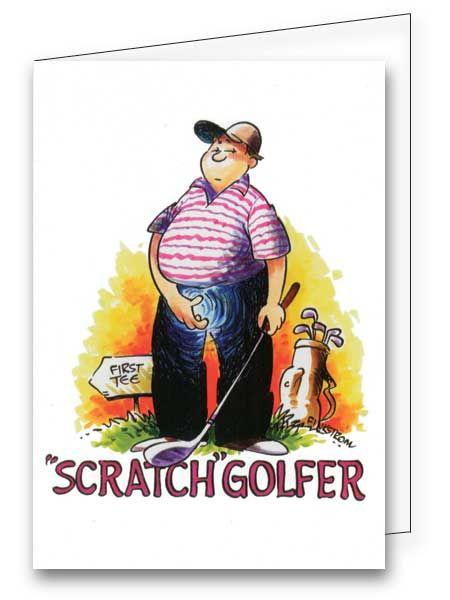 Best Birthday Golf Cartoons