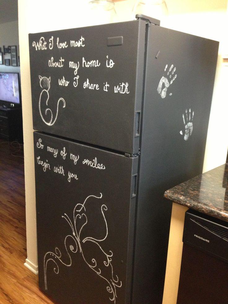 Rust Oleum Paint Refrigerator