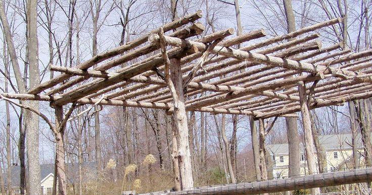 Garden Wooden Post Hose Hanger