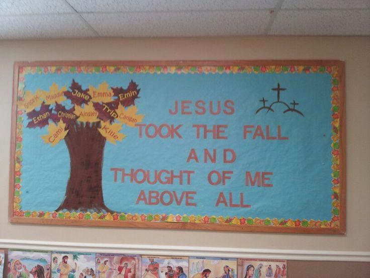 Sunday School Bulletin Board Borders