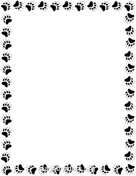 Transparent Paw Prints Wallpaper