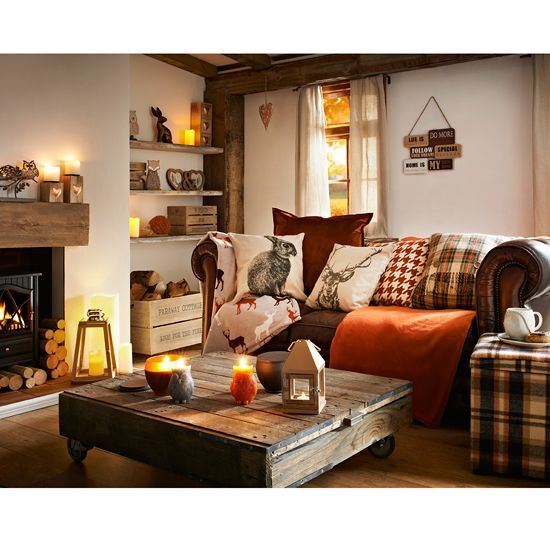 Living Room Country Ideas Cottage Decorating