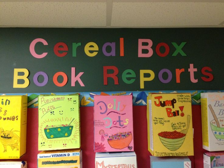 Box Template Project Biography Cereal