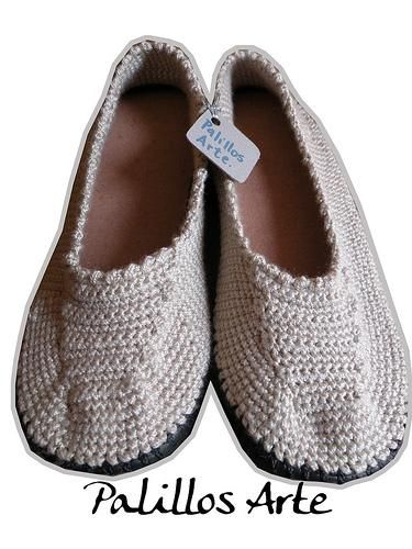 Crocheted Flops Flip Booties