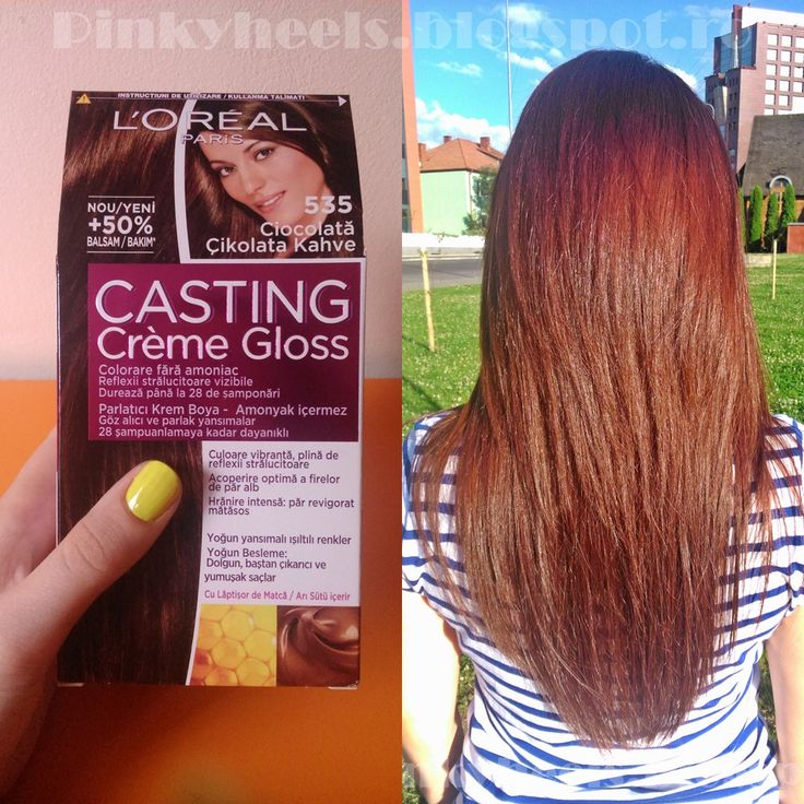 Amber Loreal Color Hair