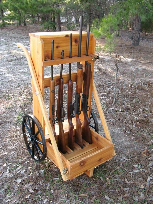 Amish Wooden Goat Cart Medium Premium Flats Hunting