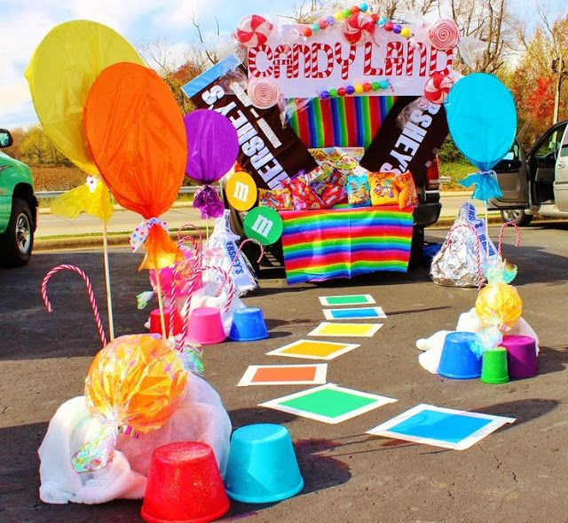 Candy Land Trunk Or Treat Ideas