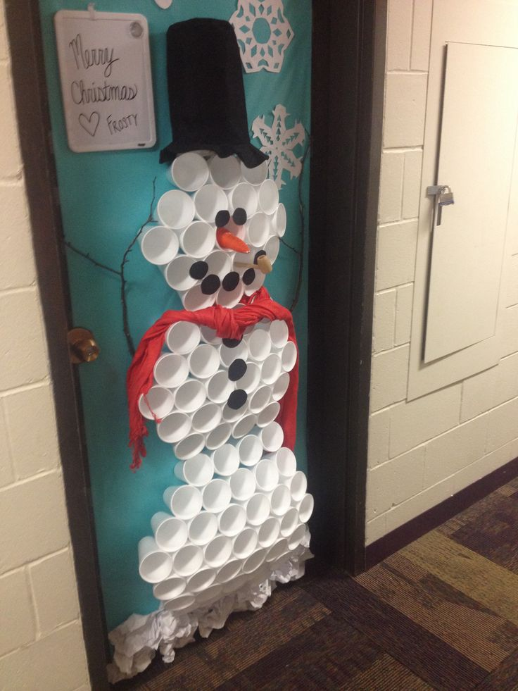Door Christmas Decorating Rules Contest