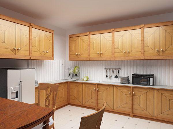 L Shaped Kitchen Interior Design India