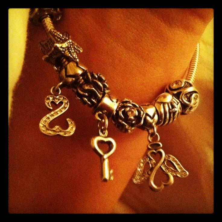 Kay Jewelers Charmed Memories Heart Bead
