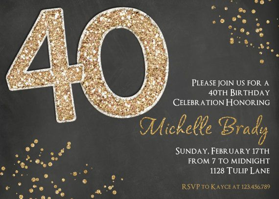 Printable Invitations 30th Birthday