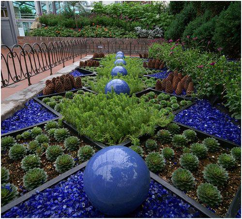 Decorative Rocks Planters