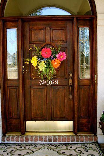 Flower Basket Door