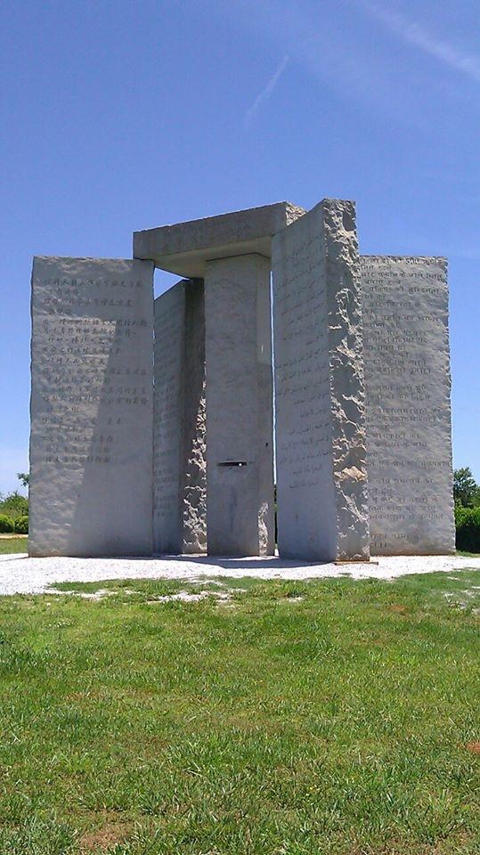 Georgia Stonehenge 2013