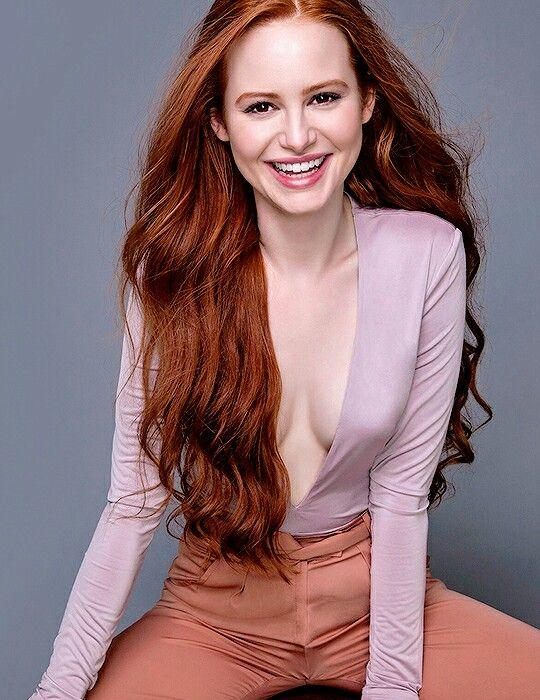 Scarlett Johansson Red Hair Portrait