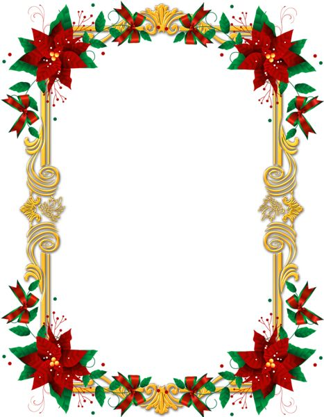 Candy Bells Borders Silver