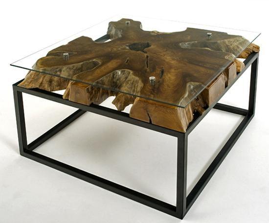 Rustic Natural Wood Furniture