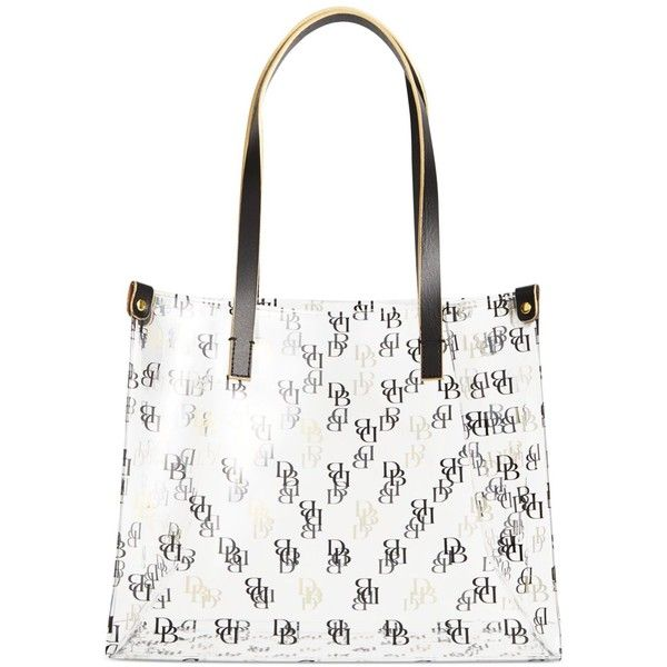 Dooney And Bourke Clear Shopper