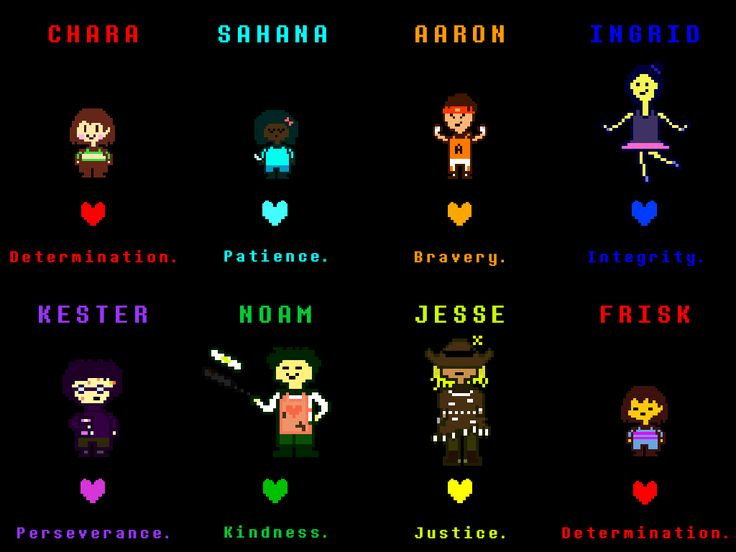 Undertale Soul Colors And Meanings