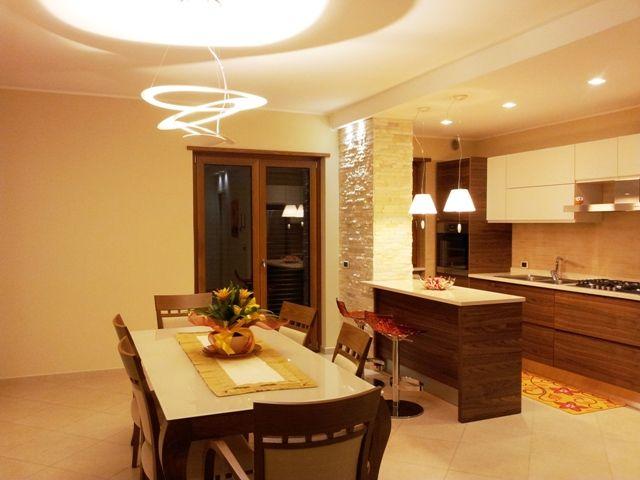 Sala Da Pranzo Dining Room Esempio Di Illuminazione Per