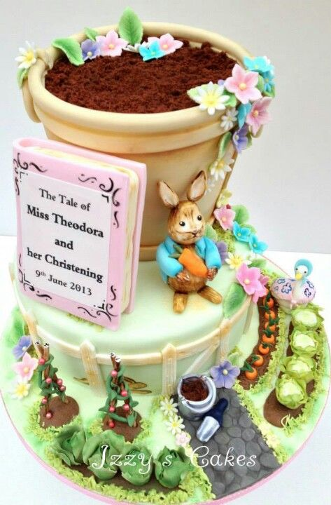 Easter Rabbit Cakes