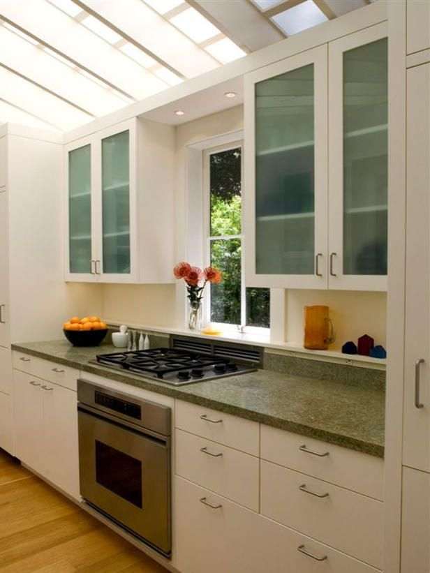 Galley Kitchen Open Dining Room