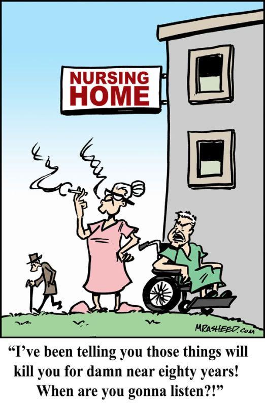 Image result for nursing home cartoons | Tickled Pink..Seniors ...