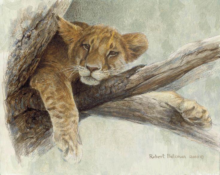 Bateman Prints Wolf Robert