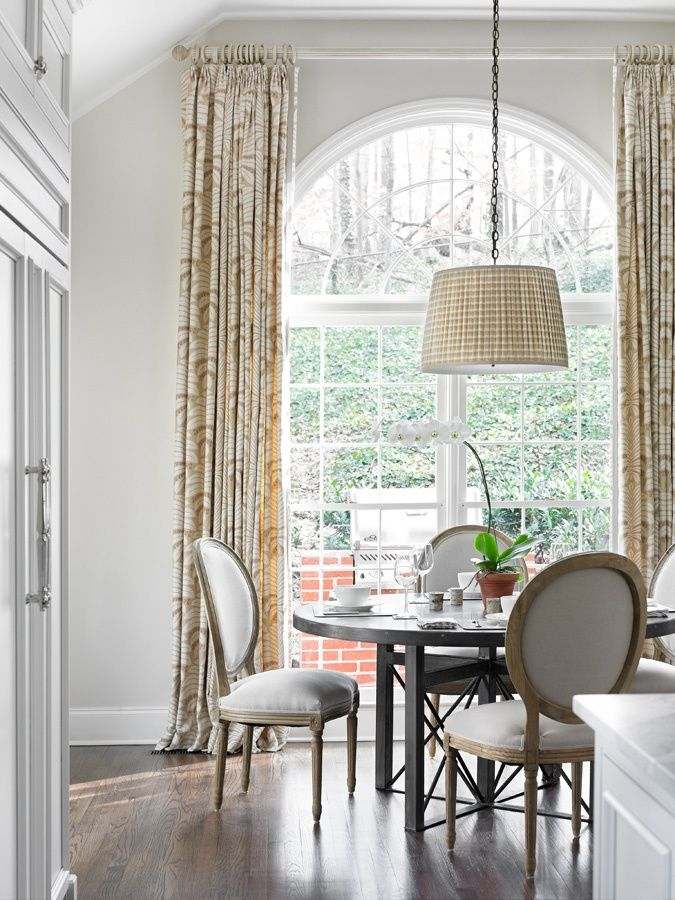 Half Circle Window Treatment Ideas