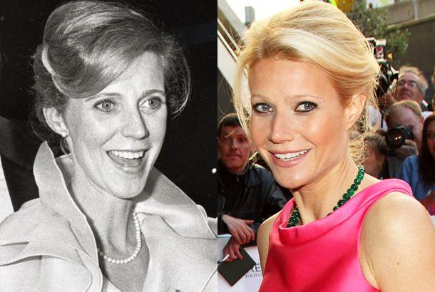 Gwyneth Paltrow and mother Blythe Danner. Gwyneth's look ...