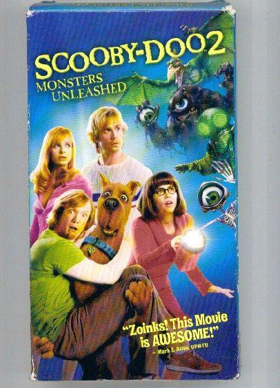 Vhs Winter Scooby Wonderdog Doo