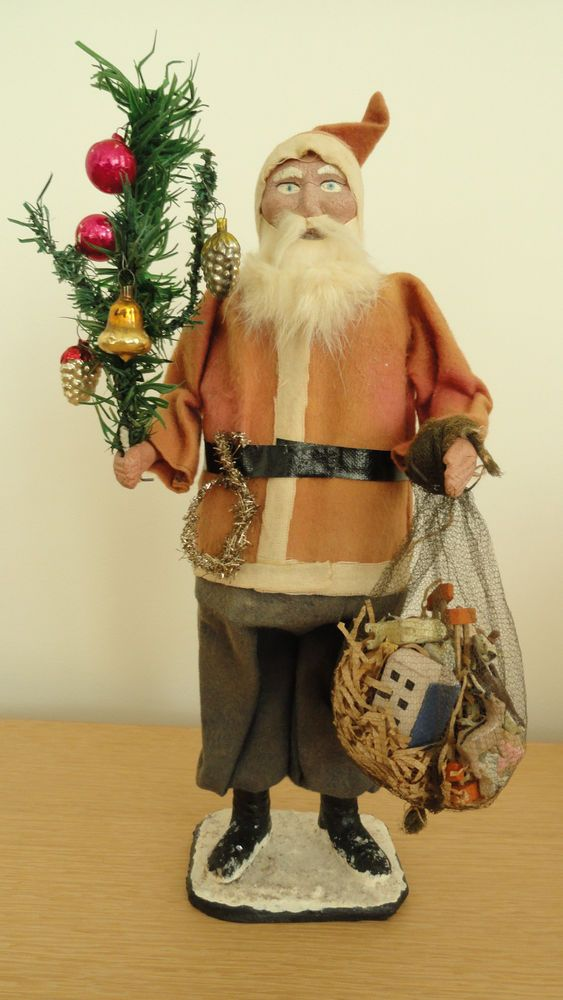 Antique Santa Claus Ornaments Make