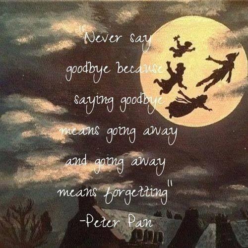 Inspirational Quotes Saying Goodbye