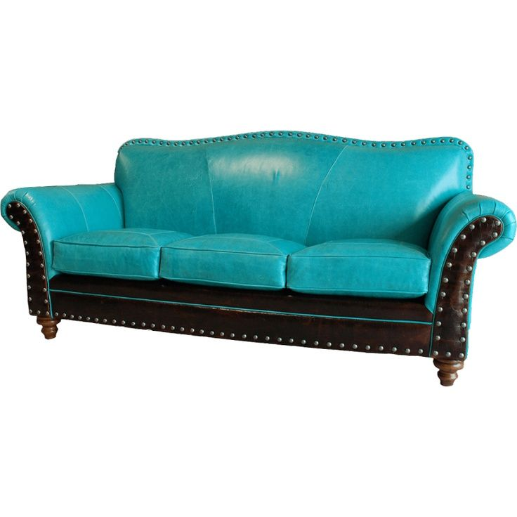 Sofa Leather And Decorating Ideas Brown Turquoise Coral