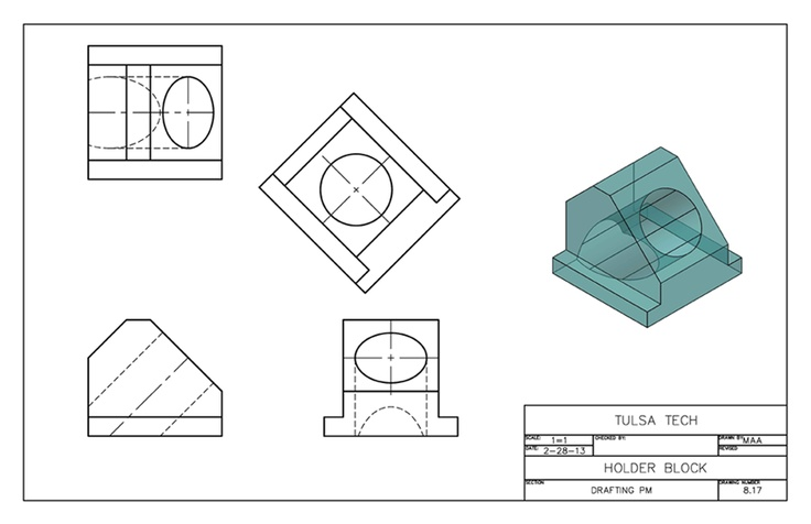 Drawing Samples Autocad Isometric