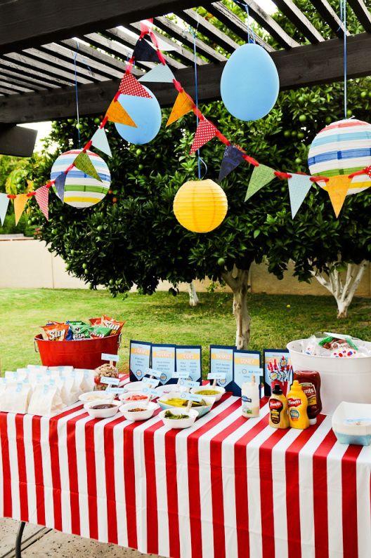 Party Birthday Themed Ballpark