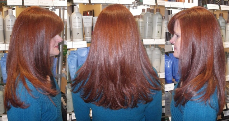 Hair Ash Brown Chestnut Medium Color