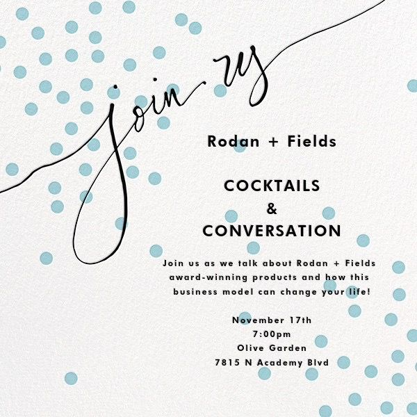 Bbl Invitations Rodan And Fields
