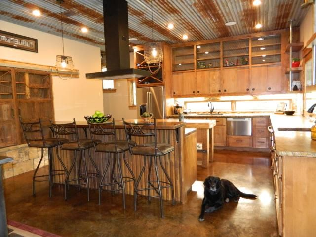 What A Kitchen Very Practical Barndominium Plans
