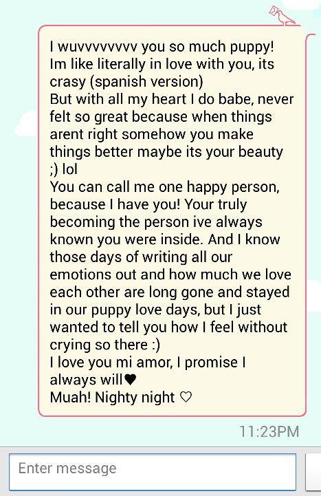 Long Message Distance Monthsary Tumblr Boyfriend