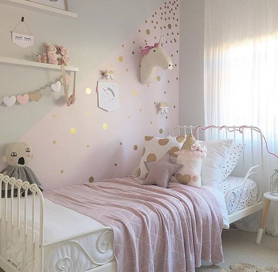 Baby Pink And White Rooms