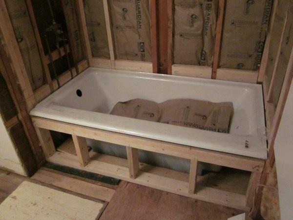 Hall Surround Bath Shower And