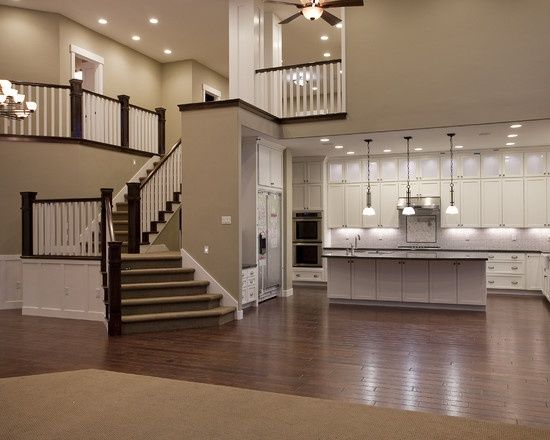 Open Plan Kitchen Floor Plans